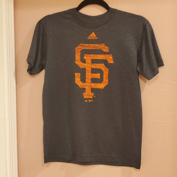 Adidas San Francisco Giants T-shirt Youth Sz 10-12